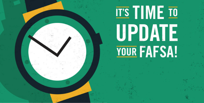 It's Time to Update Your FAFSA!
