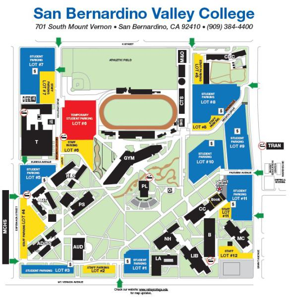 Maps, Directions & Parking — San Bernardino Valley College on berkeley county road map, escambia county road map, napa county road map, santa rosa county road map, prince george's county road map, multnomah county road map, muskogee county road map, la county map, new york county road map, adams county road map, pittsburg county road map, sumter county road map, le sueur county road map, alameda county road map, el centro road map, south orange county road map, aiken county road map, webster county road map, big bear lake road map, lethbridge county road map,
