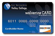 Picture of sample Wolverine debit card