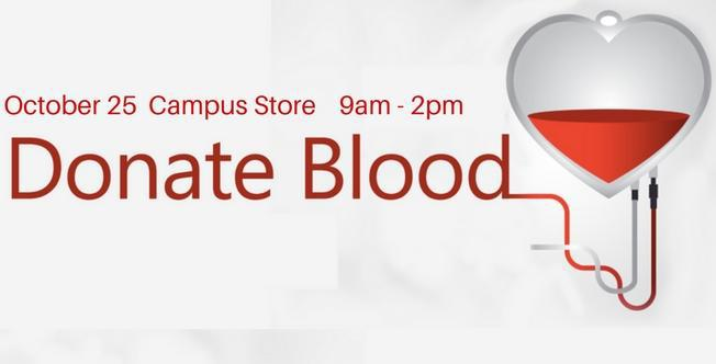 October 25 > Blood Drive