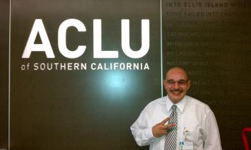 ray zacarias at ACLU of Southern California offices