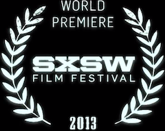 world premiere sxsw film festival 2013 logo