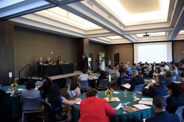 The state-wide symposium was held in the University of La Verne's Abraham Campus Center on March 16.