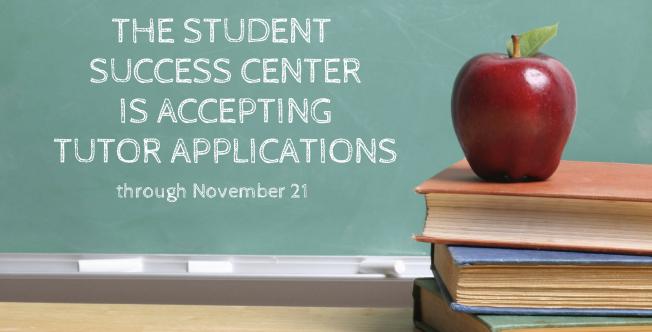 Student Success Center is Hiring!