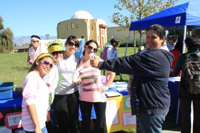 students at health fair 2011