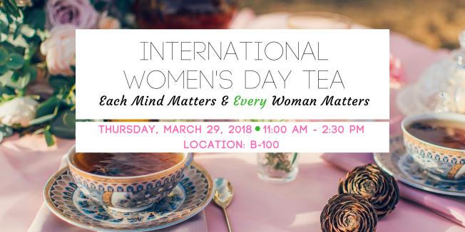 March 29 > International Women's Day Tea