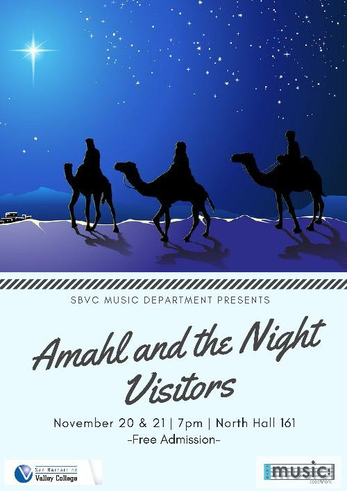 Amahl and the Night Visitors performance