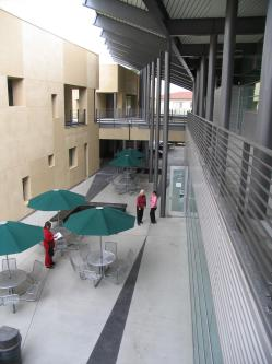 ADSS building courtyard
