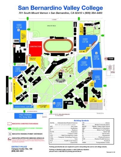Click to see PDF of campus map.