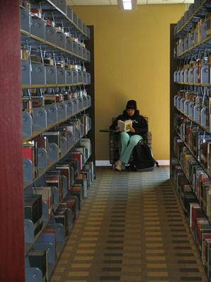 picture of inside of library