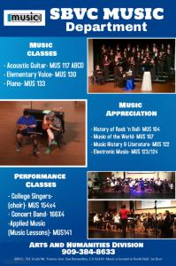 Music Classes at SBVC