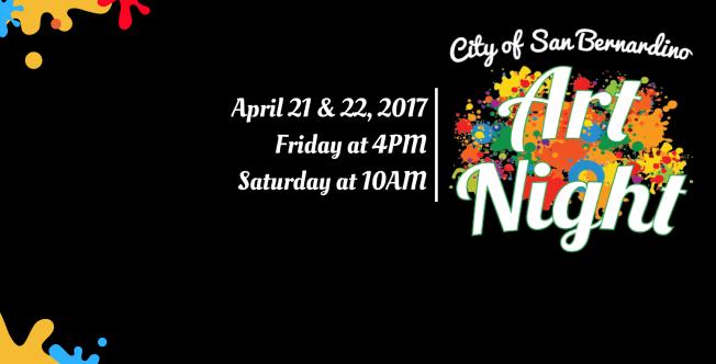 April 21 & 22 > Art Night