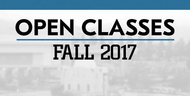 Register for Open Classes