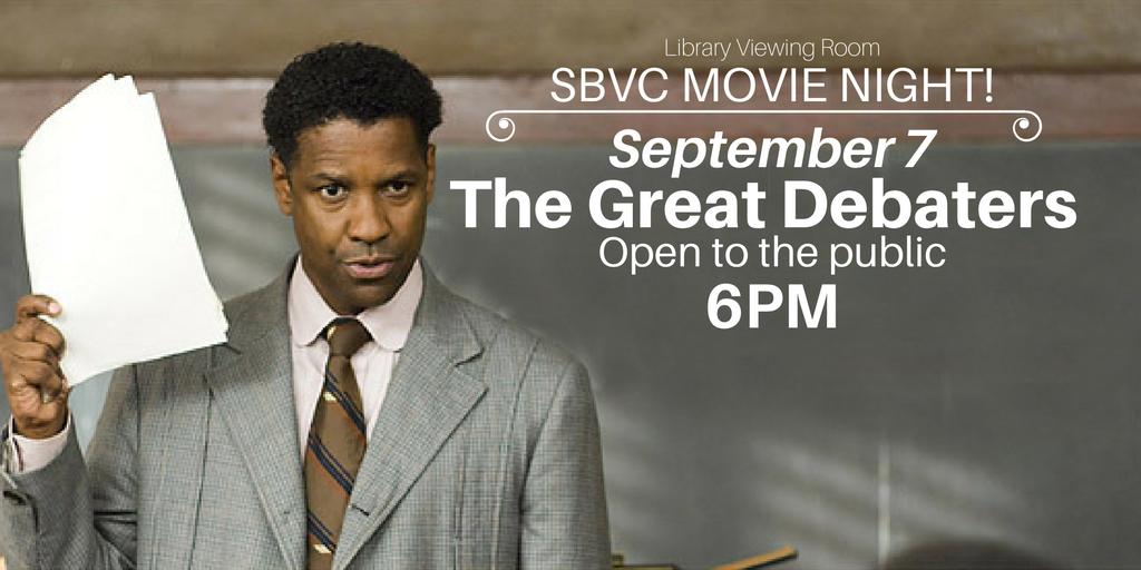 September 7 > Movie Night