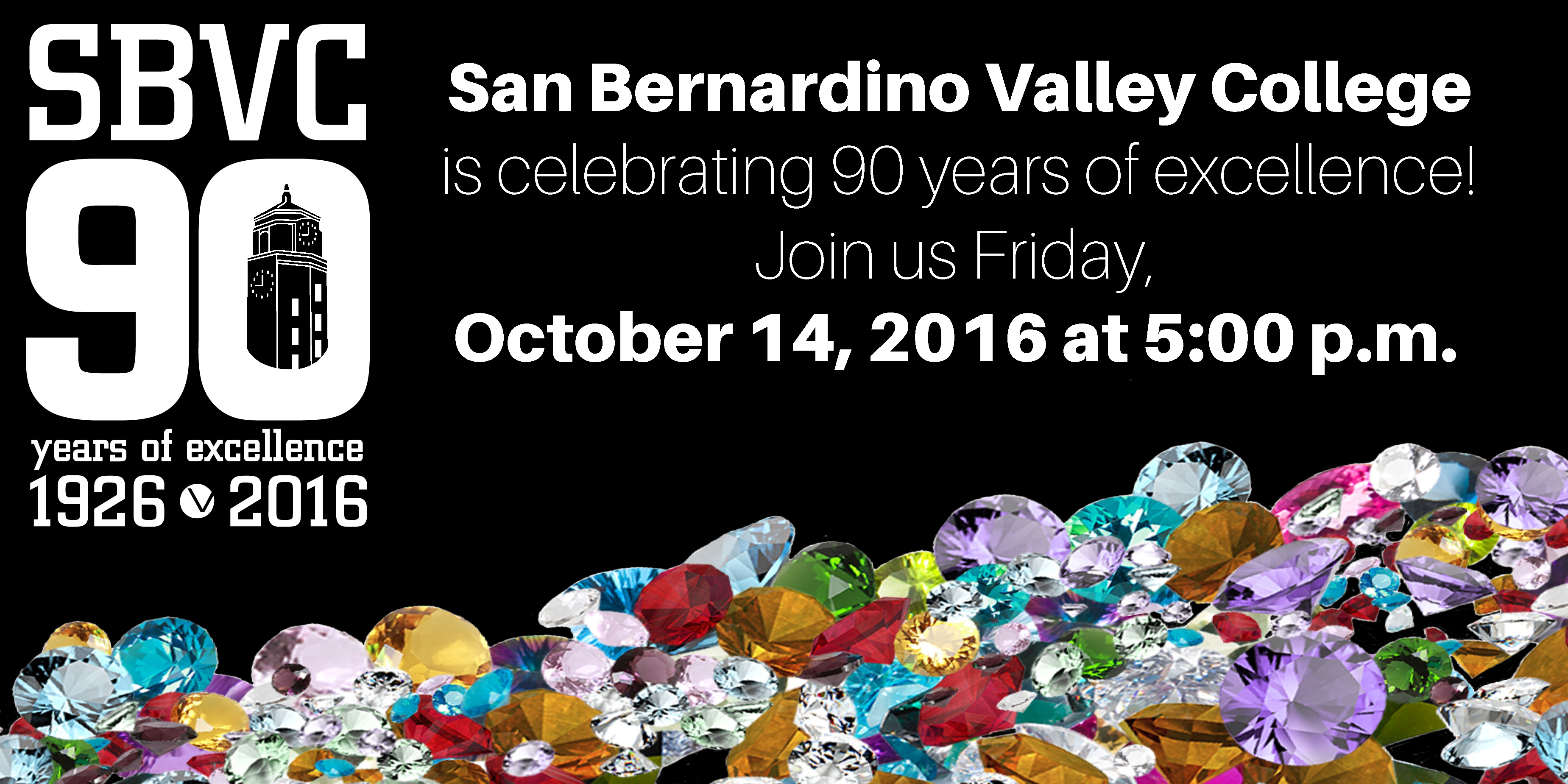 October 14 > 90th Anniversary Gala