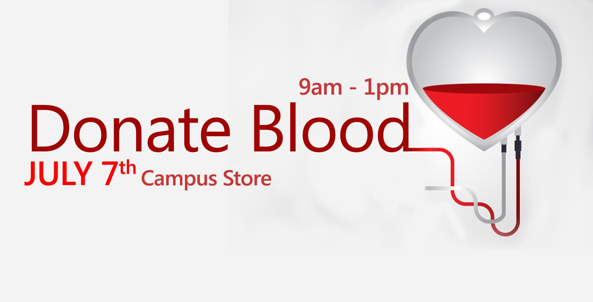 July 7 > Donate Blood