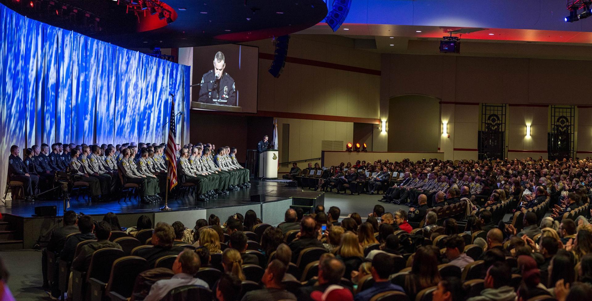 Police Academy Graduation, Fall 2016 >