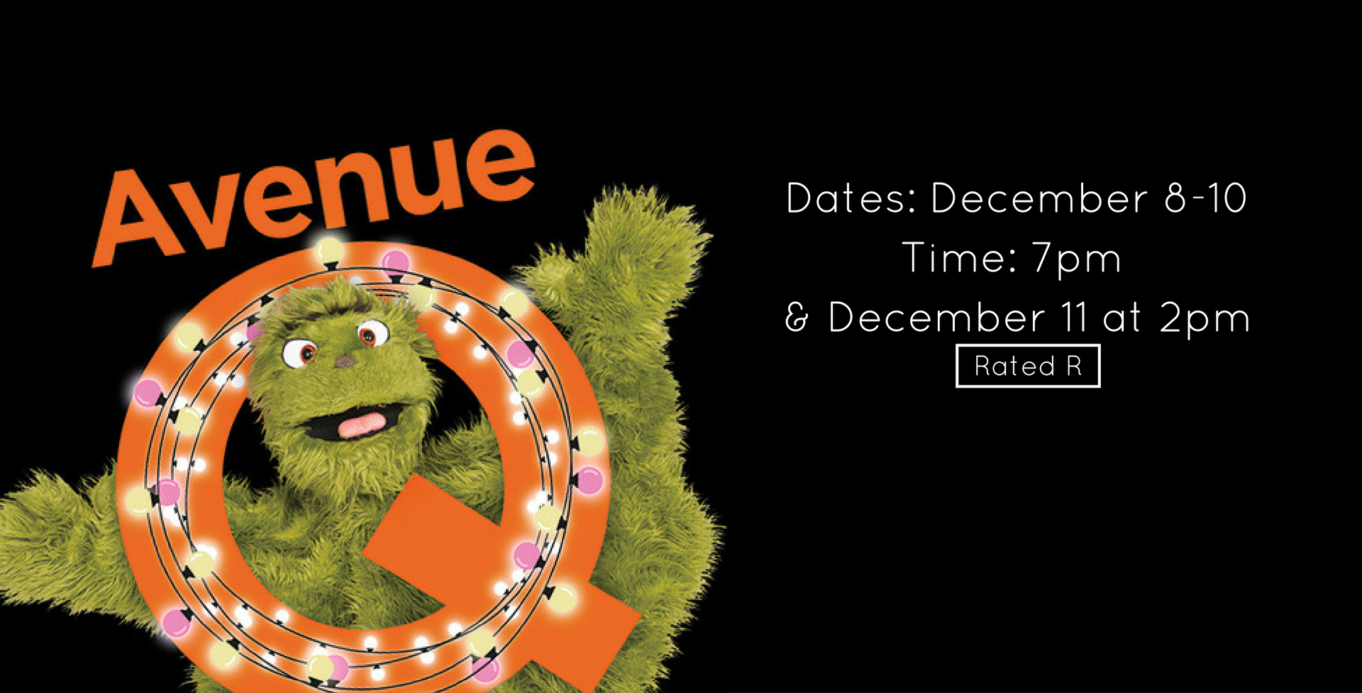 Avenue Q is Here!