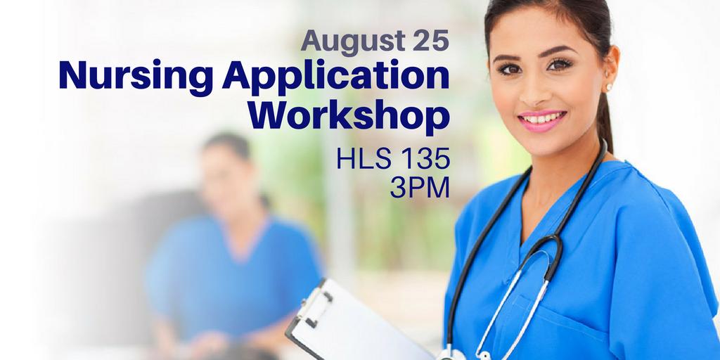 August 25 > Nursing Application Workshop