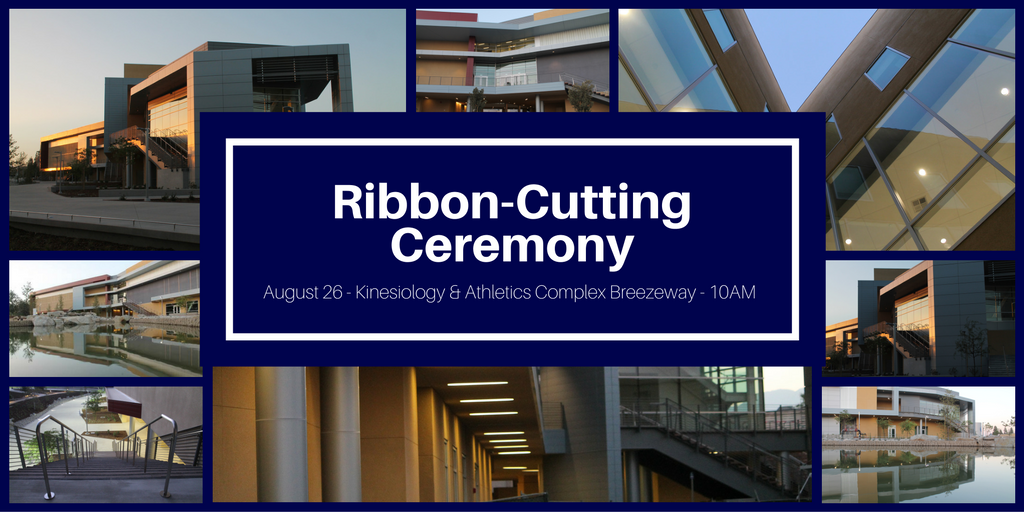 August 26 > Ribbon-Cutting Ceremony