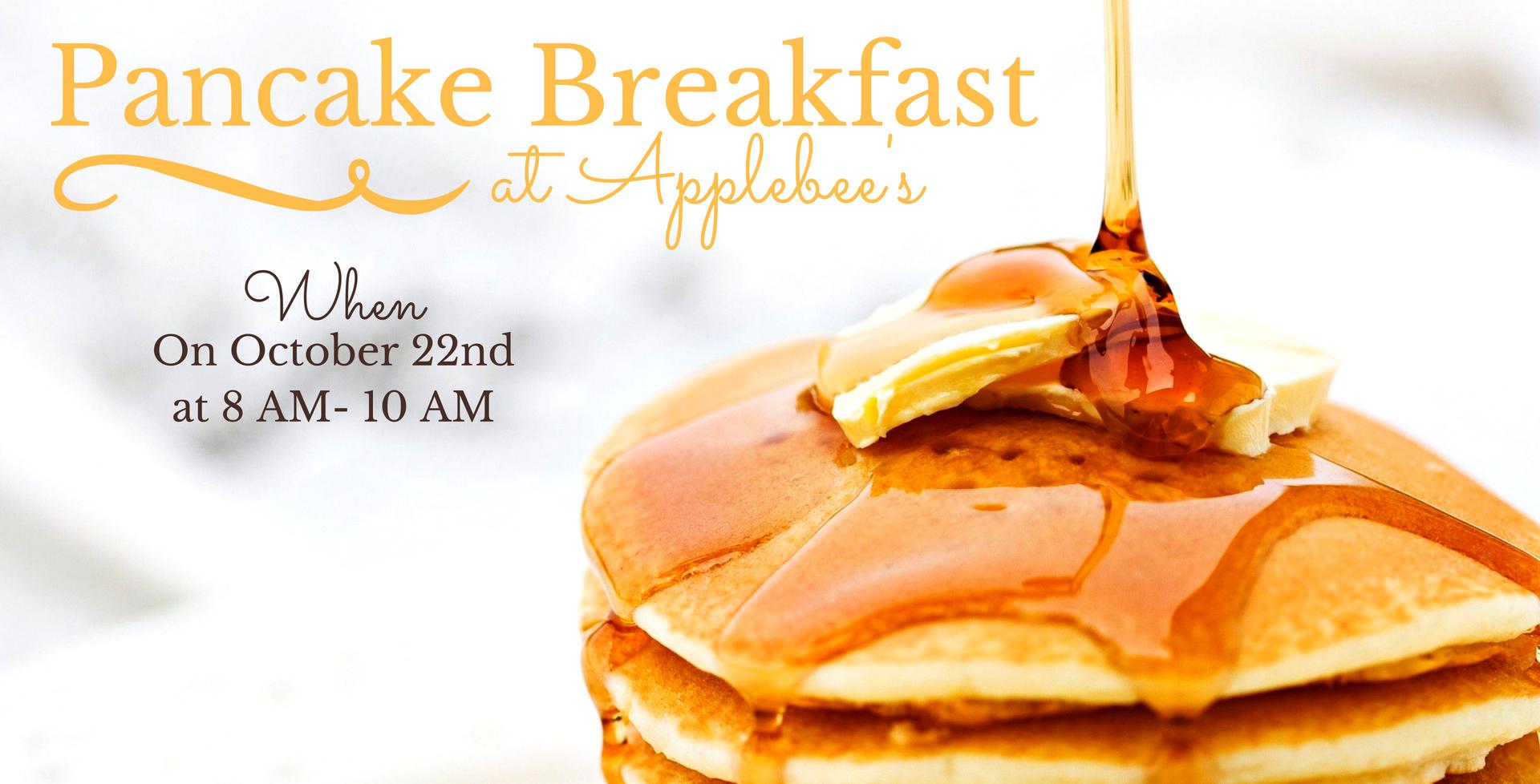 October 22 > Pancake Breakfast