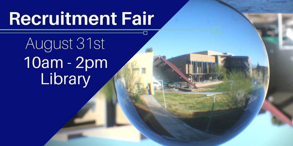 August 31 > Recruitment Fair