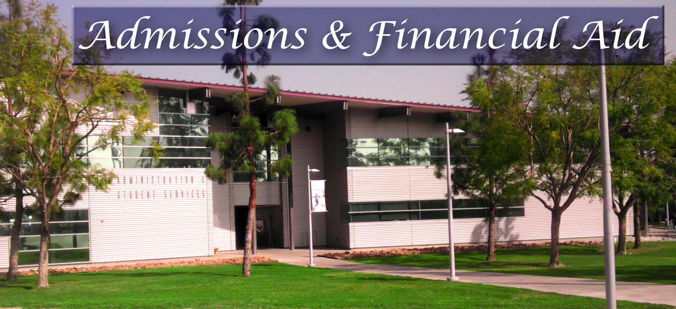 Admissions & Financial Aid Building