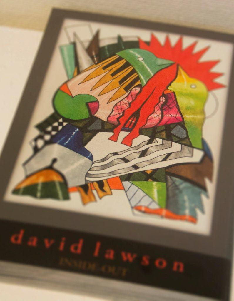 david lawson inside out postcard